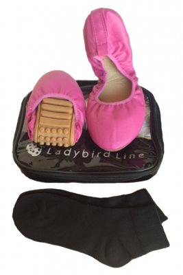 Pink foldable comfy shoes
