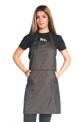 Black Waterproof Stylist Apron