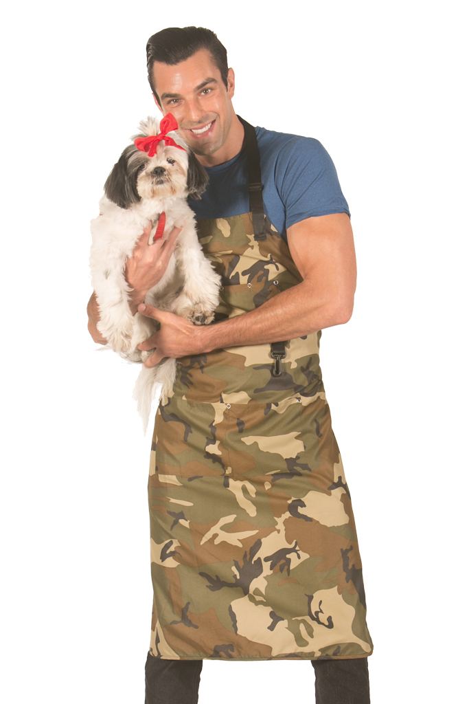 Camouflage Apron 40 Inches Long