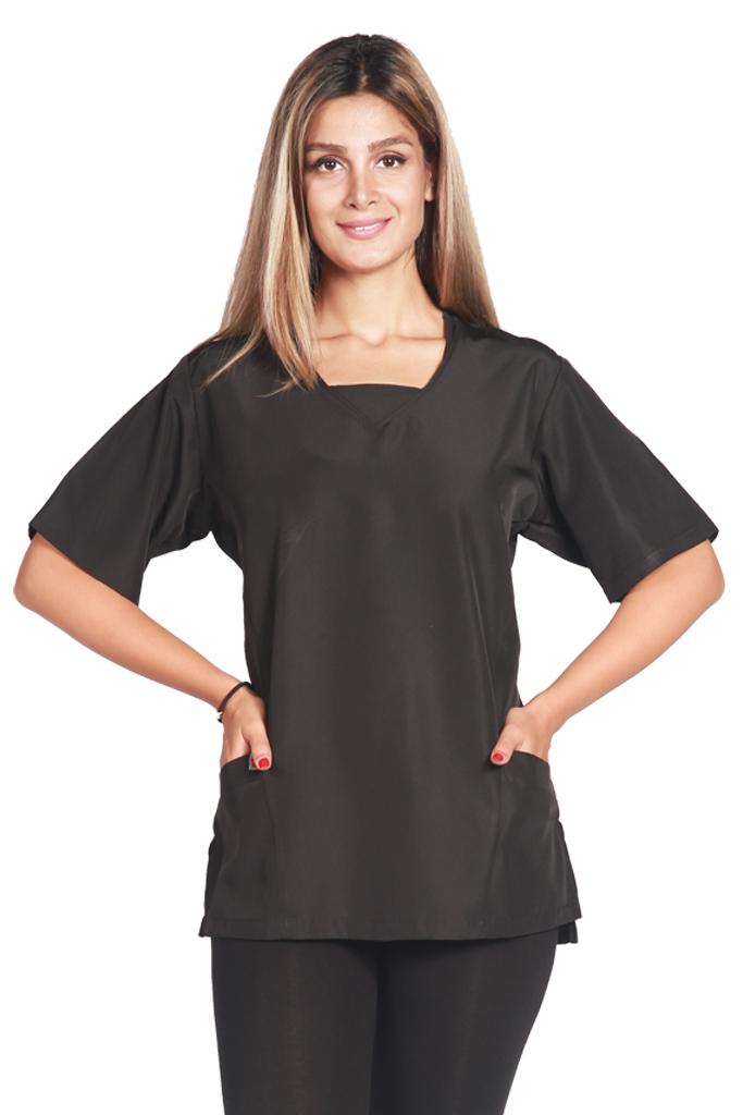 Scrub Tunic- Black
