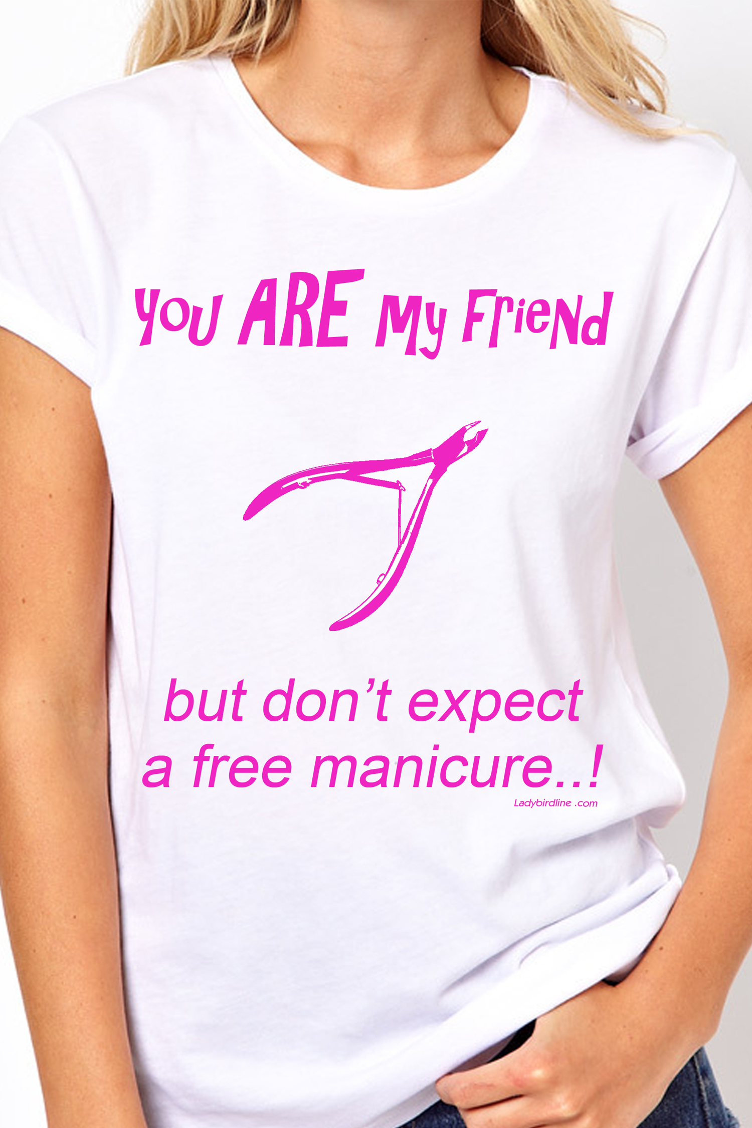 Nail Tech T-Shirt-White