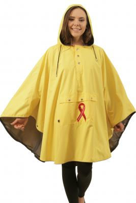 Yellow Lightweight Waterproof Poncho