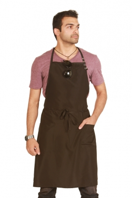 "Multi purpose unisex Black Long Apron  26""x35"""