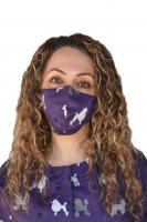 Purple Poodle Masks-2 Masks
