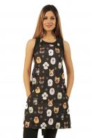 Dog Breeds Print Waterproof Dog Bather's Apron